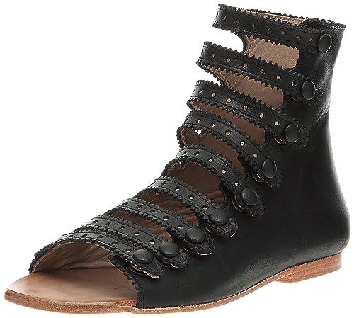 designer fashion 64e70 784d9 Tatoosh - Sandali Bambina, Nero (Nero), 28: Amazon.it ...