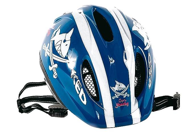 Bike Fashion Capt`n Sharky Casque pour vélo Multicolore Taille 52-58 cm