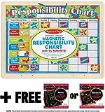 Responsibility Chart + FREE Melissa & Doug Scratch Art Mini-Pad Bundle [50593]