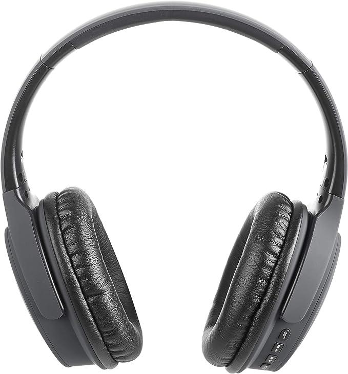 Vieta Pro Way – Auriculares inalámbricos (Bluetooth, radio FM, micrófono integrado, entrada Auxiliar, reproductor Micro SD, plegables, autonomía 40 ...
