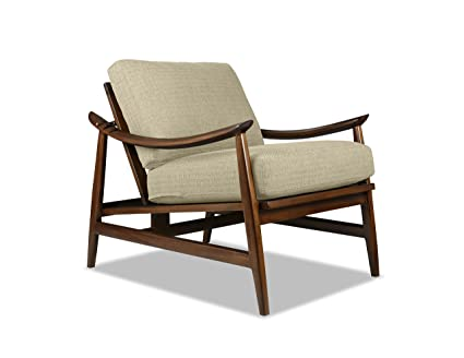 South Cone Home Hansdanch/Cog Hans Danish Reclining Chair, Accent, Sand