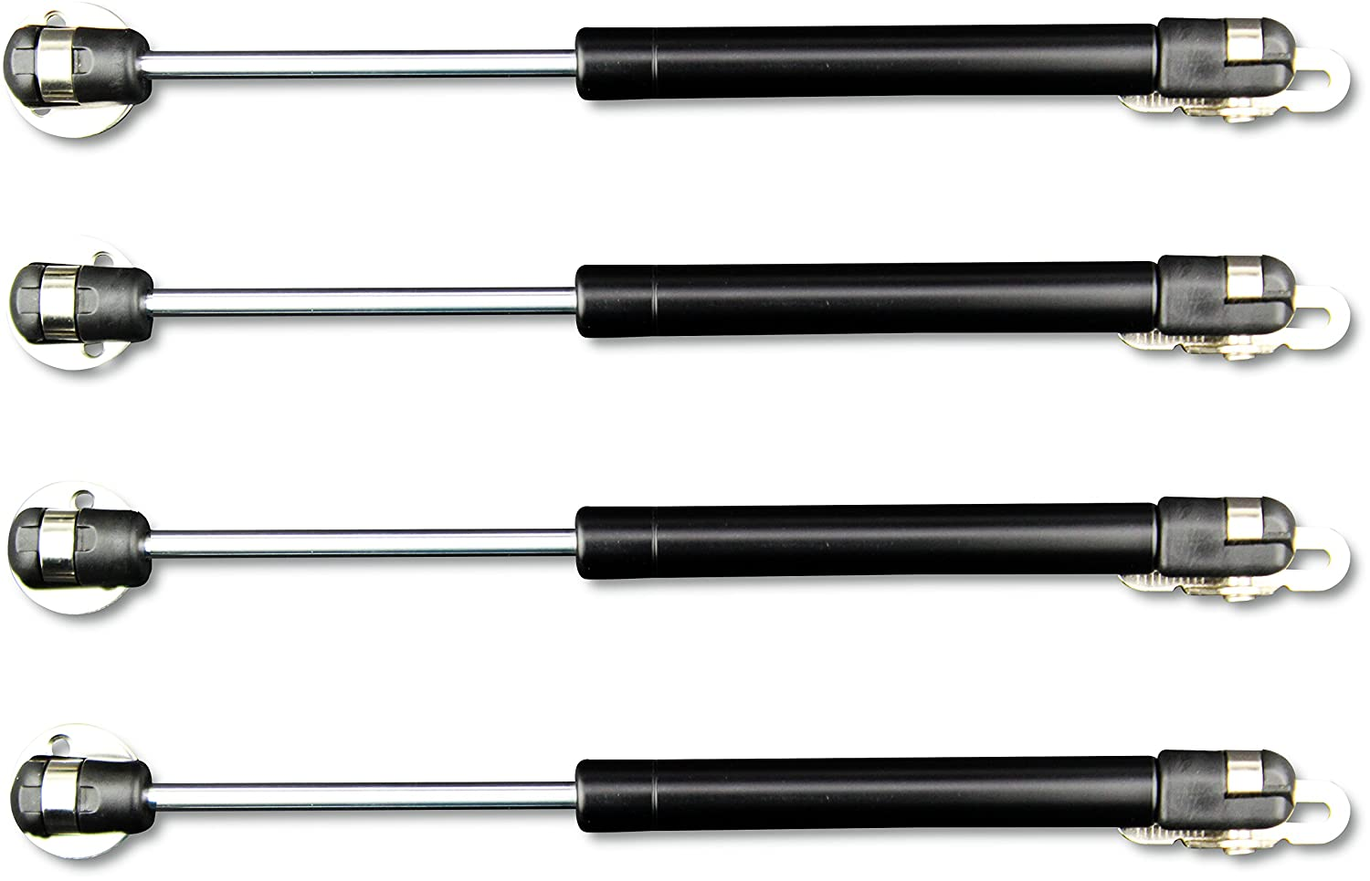 Apexstone 100N 22.5lb Gas Strut Gas Spring Lid Support Lift Support Lid Stay Gas Props Shocks Set of 4