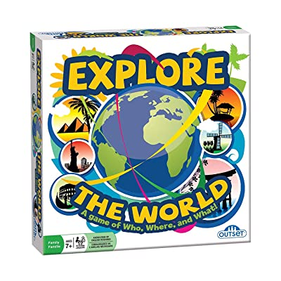 Outset Media - Explore the World - Test Your Knowledge and Learn Interesting Facts from Around the Globe - Ages 7+: Toys & Games