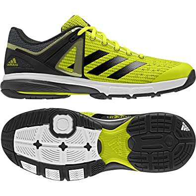adidas Men's Court Stabil 13 Handball Shoes, Yellow (Amasol ...