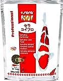 sera 070 KOI Professional Spirulina Farbfutter Das Profifutter für perfekte Farben, ideales Wachstum und gesunde Fische mit hohem Spirulina-Anteil (6,3%) ab 8°C