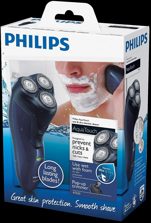 Philips - Afeitadora eléctrica Wet   Dry AT620 14 AquaTouch f04bedc447b7