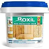 roxil madera protección crema – 10 año impermeabilización para madera blanda láminas – 3 litros