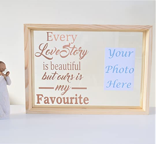 Love Quote Couple Photograph Frame. Love Story is Beautiful but Ours ...