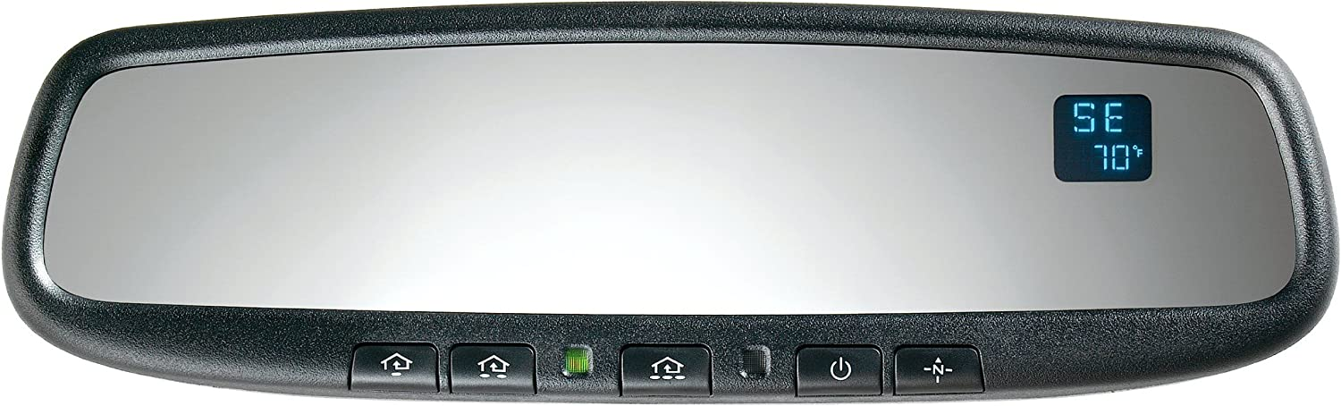 Gentex GENK50A-HPK Auto-Dimming Rear View Mirror system with Compass, Temperature and Homelink for Honda