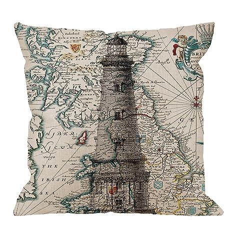 Amazon.com: hgod diseños Decor funda de almohada, clásico ...
