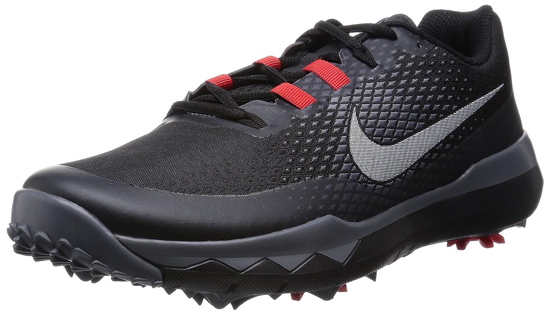 Nike 2015 TW Golf Shoes Black Red Dark Grey White 8.5 Wide 704885001   Amazon.co.uk  Sports   Outdoors 093376ff0b2b