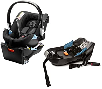 Cybex Aton 2 Infant Car Seat With Extra Base Storm Cloud