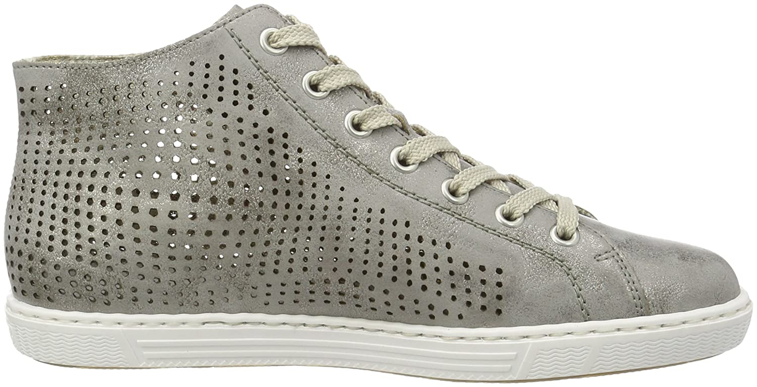 Rieker Damen High-Top L0936 High-Top Damen Grau (Grau / 41) 58cd1a
