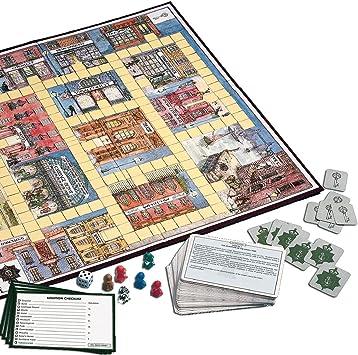 Gibsons Games Gibson Games - Juego de Mesa G778 (versión en inglés): 221b Baker Street Detective Game: Amazon.es: Juguetes y juegos