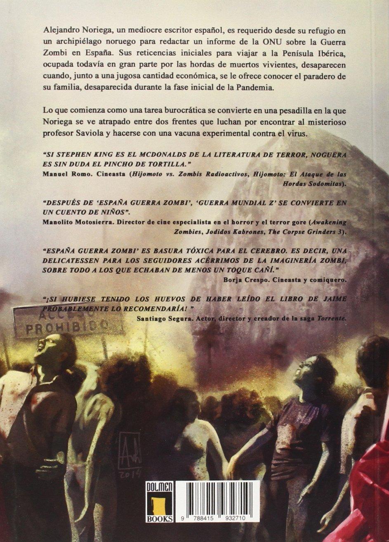 España: Guerra Zombi (Línea Z): Amazon.es: Noguera, Jaime: Libros