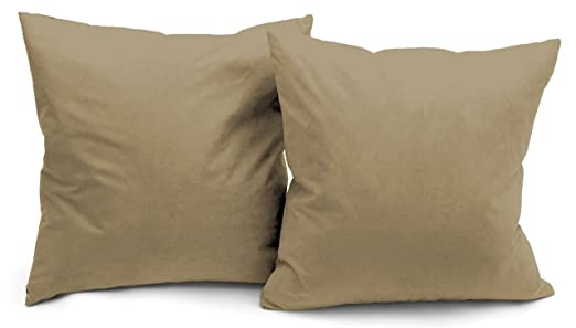 Amazon Deluxe Comfort Microsuede Throw Pillows 40 X 40 Interesting Down Filled Decorative Pillows