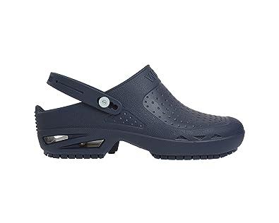 Chaussures Wock bleues unisexe Chaussures Wock bleues unisexe 41 gris QIN&X Fond épais Femmes Talon Moyen. Chaussures Grande Taille QIN&X Bloc de Femmes Talon Haut Bout Rond de Longues Bottes Chaussures Plate-Forme ATl3v