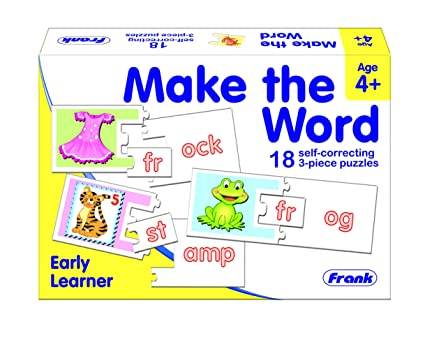 Frank Make The Word Early Learner Puzzle for 4 Years and Above