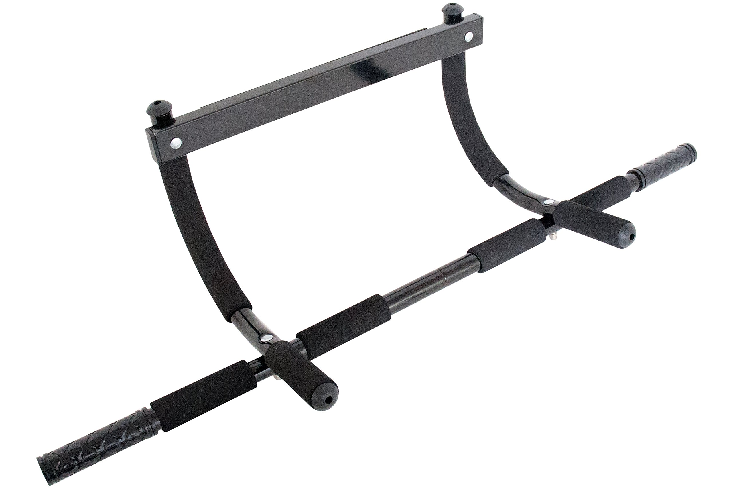 ProSource Multi-Grip Lite Chin-Up/Pull-Up Bar, Black