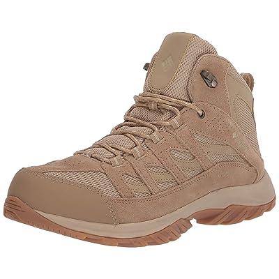Columbia Men's Crestwood Mid Waterproof Hiking Boot Boot, Black Grey, 16 Wide US | Shoes