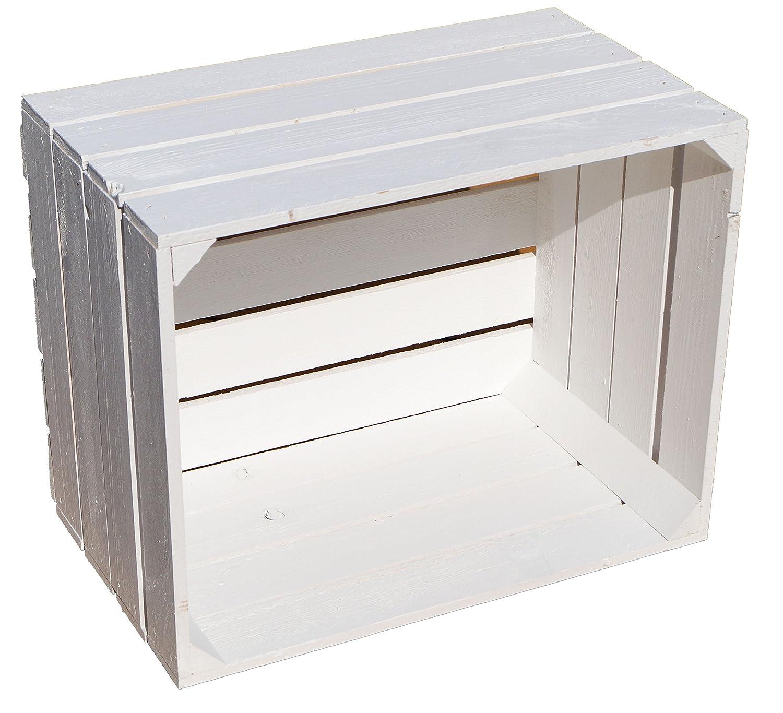 aus dem Alten Land - Caja de madera, color blanco: Amazon.es: Hogar