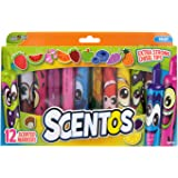 Amazon.com: Scentos Scented Chisel Tip Markers (40640
