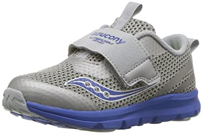 fdf994fa67 Saucony Boys' Baby Liteform Sneaker, Grey, 11.5 Wide US Little Kid ...