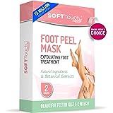 Foot Peel Mask – 2 Pack of Peeling Booties – Natural Foot Care Exfoliating Treatment Repairs Cracked Heels, Calluses…