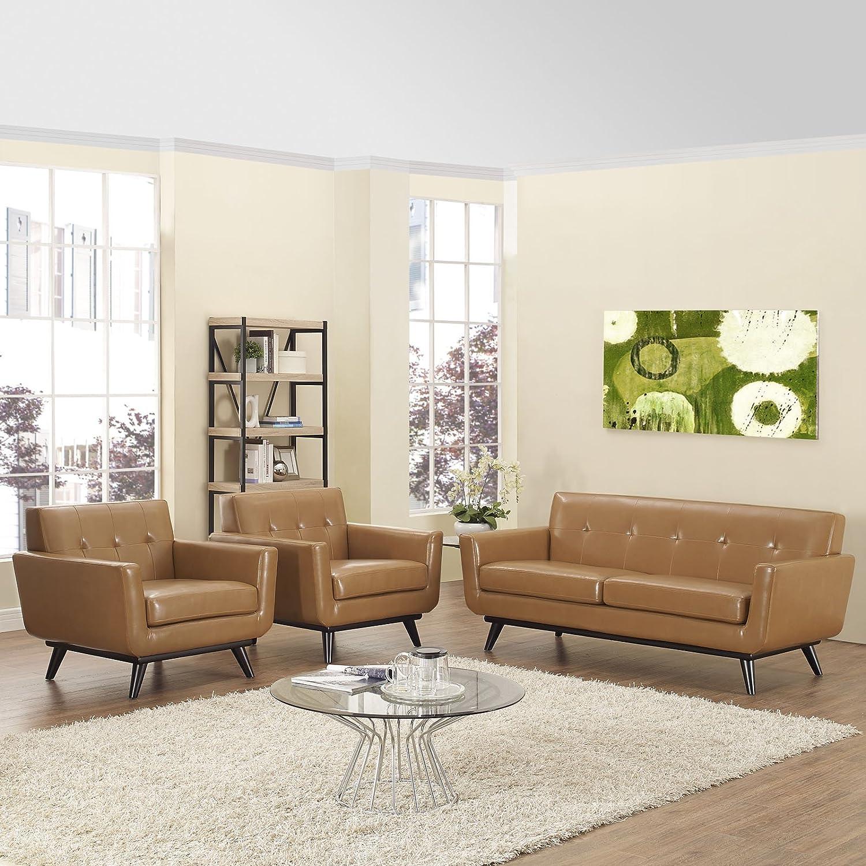 Amazon.com: Sofá tapizado Modway Engage, para sala de ...