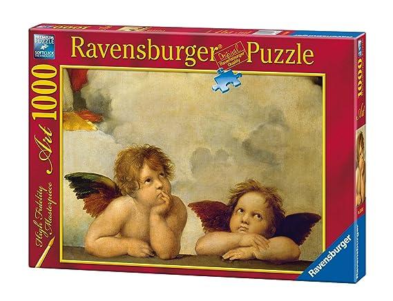 Ravensburger - Arte: Raffaello Querubines, puzzle de 1000 piezas (15544 6): Amazon.es: Juguetes y juegos