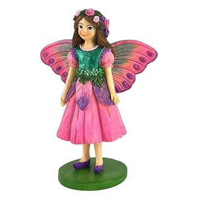 GlitZGlam Sofia The Miniature Fairy Figurine for Your Fairy Garden/Miniature Garden: Home & Kitchen
