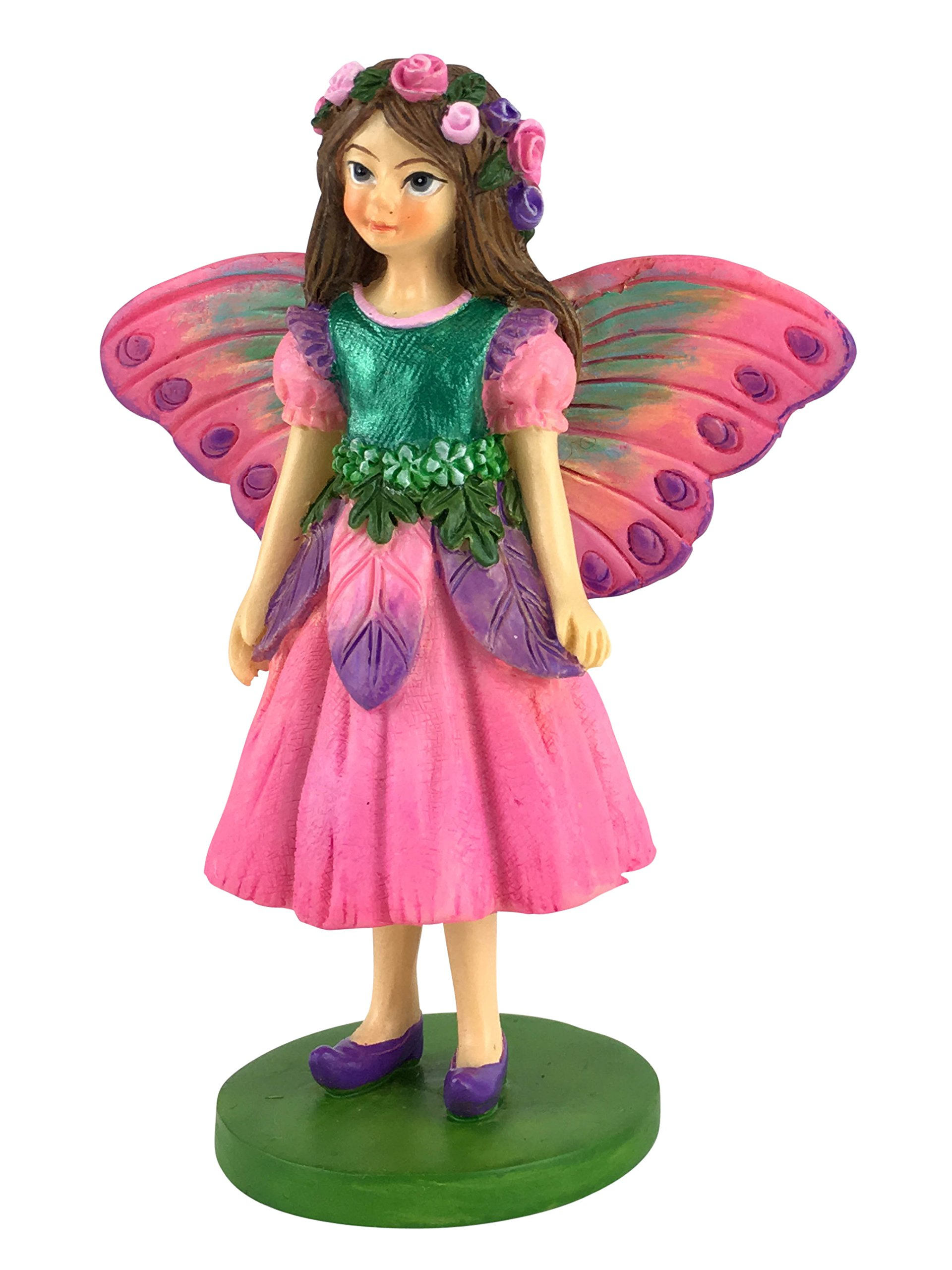 GlitZGlam Sofia The Miniature Fairy Figurine for Your Fairy Garden/Miniature Garden