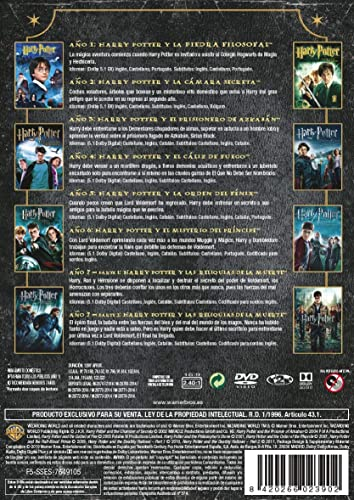 Pack Harry Potter - Colección Completa Golden Steelbook 2019 DVD ...