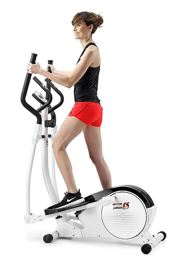 Schmidt Sportsworld Elite 130CT 950292 - Bici elíptica - 8Kg sistema inercial - Easy Access - Blanca: Amazon.es: Deportes y aire libre