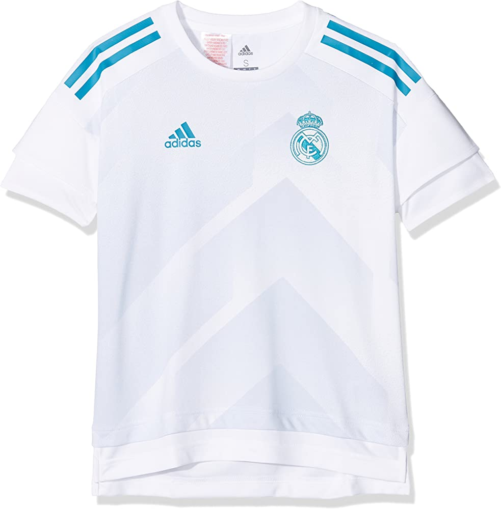 adidas H Preshi Y Equipación Línea Real Madrid, niños, Blanco/azuhal, 176: Amazon.es: Ropa y accesorios