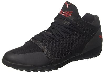 365 Netfit St, Chaussures de Football Homme, Noir (Black-Black-White), 39 EUPuma
