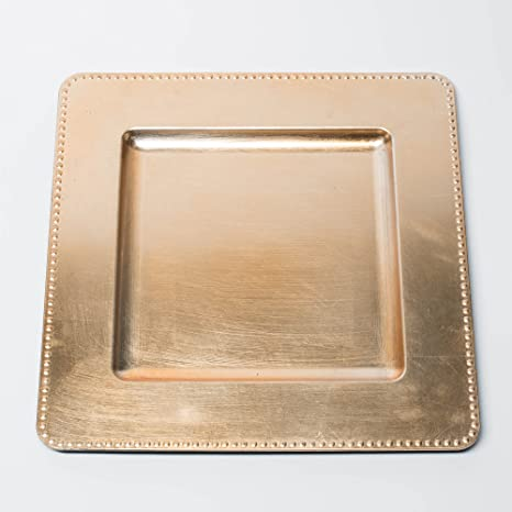 Richland Charger Plate 13\u0026quot; Square Beaded Gold ... & Amazon.com | Richland Charger Plate 13"|466|466|?|en|2|6e4dca4063f6862431693db4afb57dbc|False|UNLIKELY|0.32303017377853394