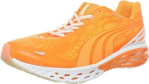 PUMA Bioweb Elite Glow Zapatillas de Correr para Hombre, Naranja ...