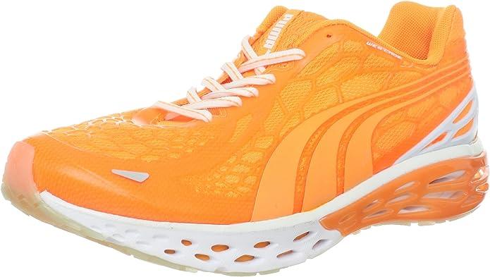 PUMA Bioweb Elite Glow Zapatillas de Correr para Hombre, Naranja (Naranja Fluorescente), 47 EU: Amazon.es: Zapatos y complementos