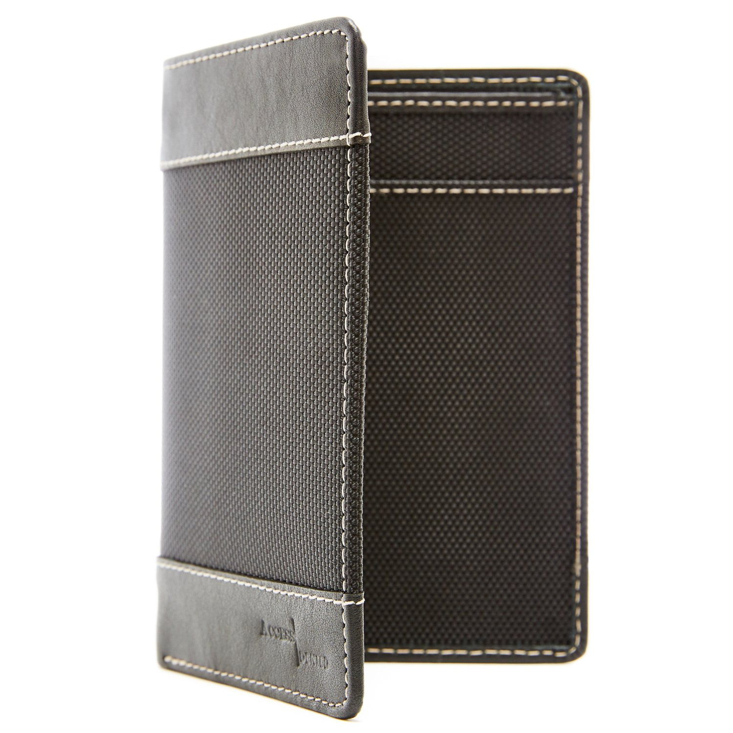 Passport Holder Cover RFID Blocking - Leather Travel Wallet Credit Card Organizer by Access Denied (Image #7)