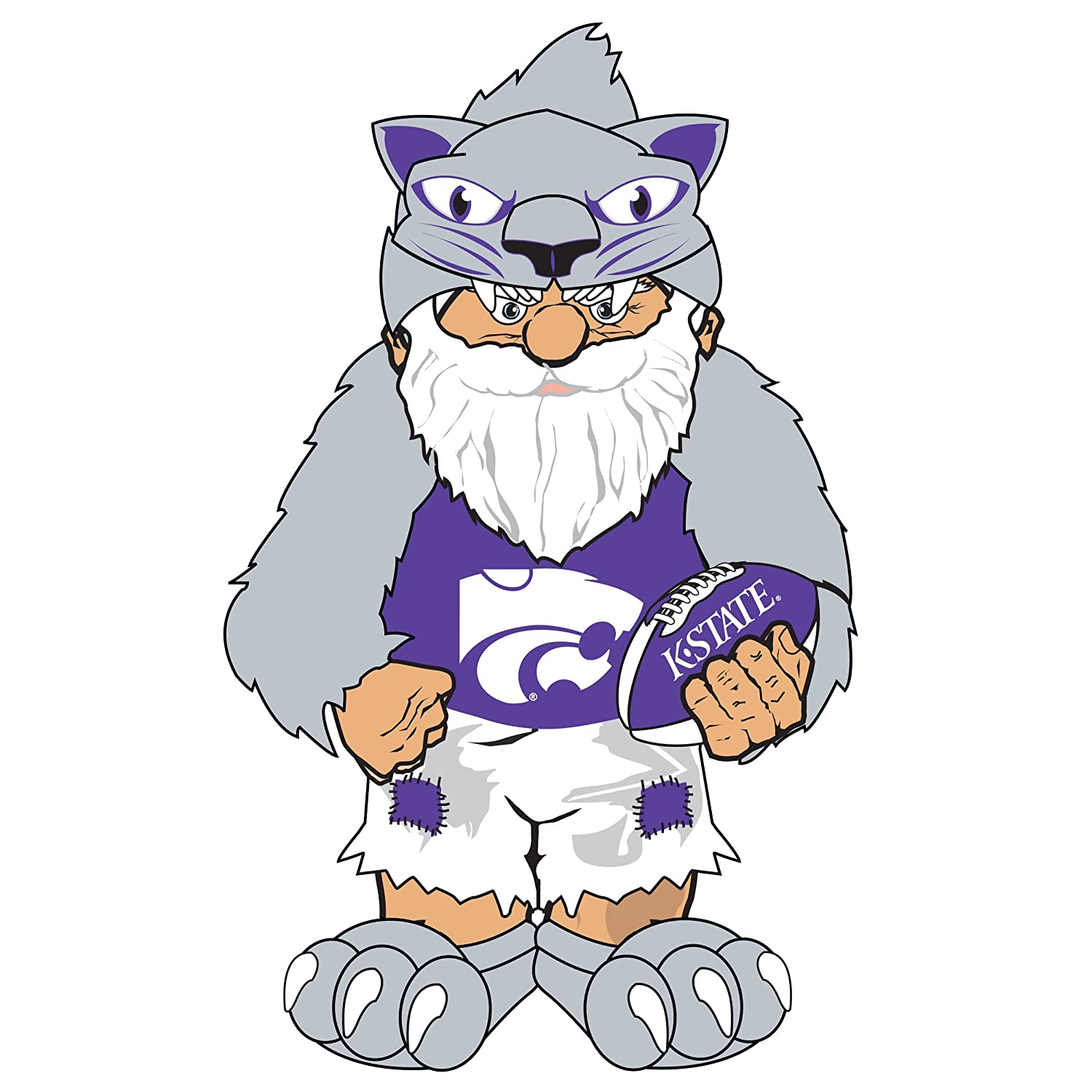 Kansas State Team Thematic Gnome B004ADZCR4