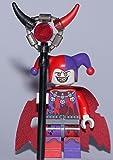 LEGO Nexo Knights Minifigur : Jestro mit Waffe aus den Sets 70323 70316