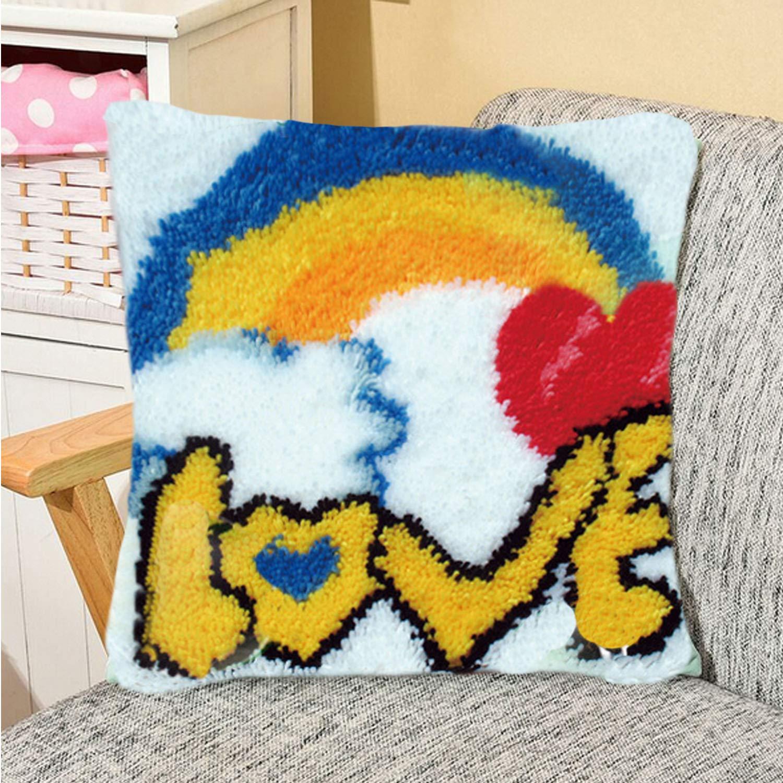 43x43cm DIY Funda de Almohada Throw Pillow Funda de Cojín ...