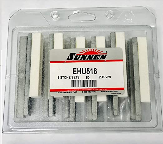 SUNNEN Brand new Y12 A69 hone stones  Y12A69 box of 10                    honing