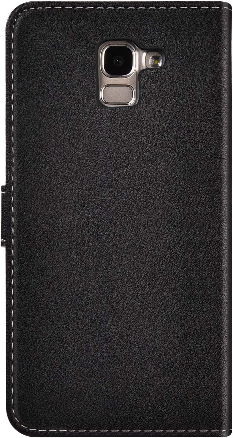 Surakey Cover Compatibile con Samsung Galaxy J6 2018 Custodia Flip PU Pelle Modello A Foglia Cava Case Libro Portafoglio Cover con Supporto Porte Carte Anti-Scratch Pieghevole Custodia,Argento