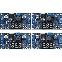 4 Pieces Adjustable LM2596S DC-DC Buck Converter Reduced Voltage Regulator Power Module 36V 24V 12V to 5V 2A Voltage…