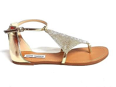 new product de836 e3af5 Steve Madden Damen Sandalen Gold Gold: Amazon.de: Schuhe ...