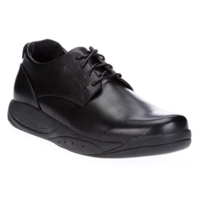 Xelero Milan Men's Comfort Therapeutic Extra Depth Casual Shoe Leather Lace-up   Walking