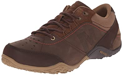 Merrell Mens Wraith Fire Lace-Up Shoe, Dark Earth, ...