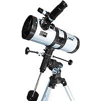 "Telescopio reflector 1000-114 EQ3 de Seben Star-Sheriff incl. ""Big Pack"""